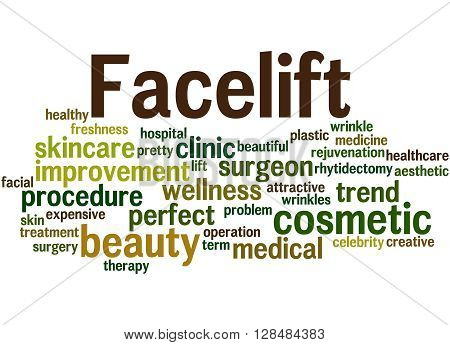 Facelift, Word Cloud Concept 9