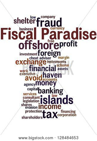 Fiscal Paradise, Word Cloud Concept 8