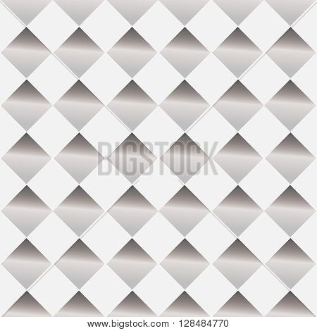 White and gray background with seamless design of patterned hole