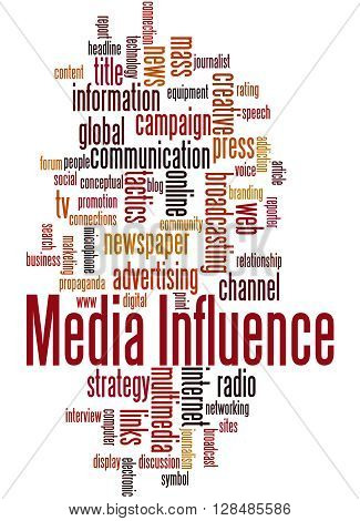 Media Influence, Word Cloud Concept 2
