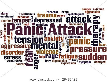 Panic Attack, Word Cloud Concept 9