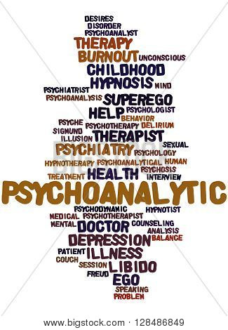Psychoanalytic, Word Cloud Concept 5
