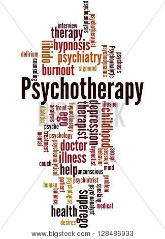 Psychotherapy, Word Cloud Concept 5