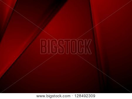 Dark red smooth material corporate background. Vector graphic abstract design template