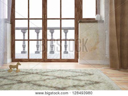 Modern elegant interior