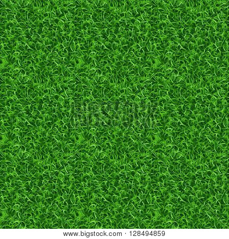 Seamless grass vector texture. Green grass, meadow grass pattern, field grass seamless texture illustration