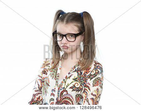Offended Teen Girl..