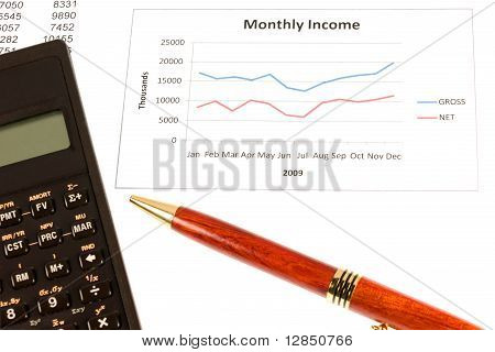 Business Income Scene