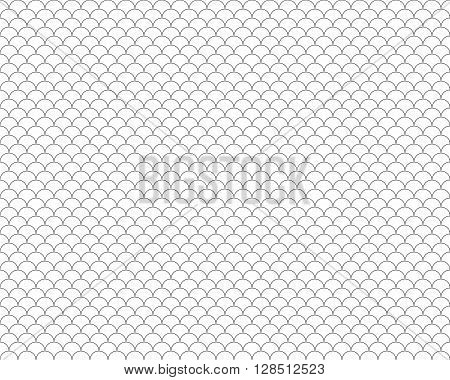 fish scales seamless background.Vector illustration. EPS 10.