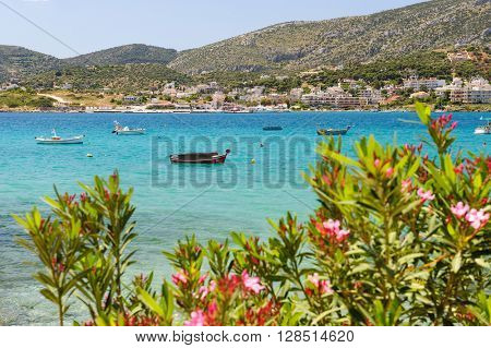 Porto Rafti harbor view, Greece