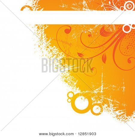 Abstract spring pattern for design.