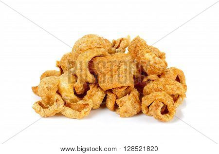 Pork Rind Favorite Food In Thailand