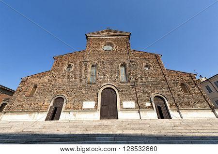 Faenza (Ravenna Emilia-Romagna Italy) - Cathedral facade (16th century Renaissance era)