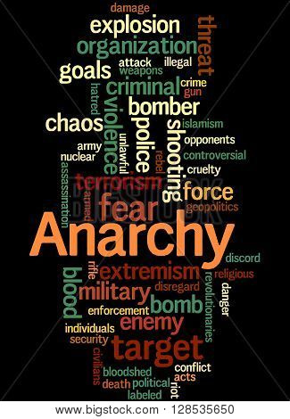 Anarchy, Word Cloud Concept 9