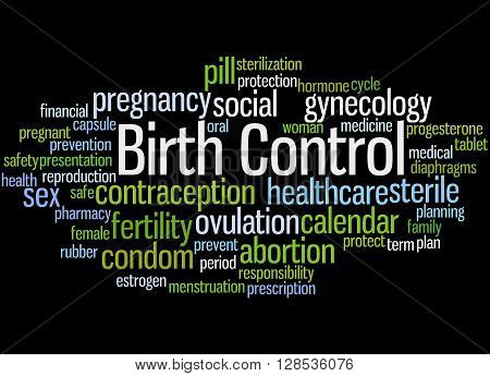 Birth Control, Word Cloud Concept 8