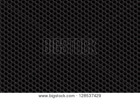Metal grill seamless background. Vector illustration. EPS 10.