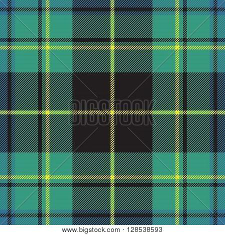 Pride of ireland tartan fabric texture seamless pattern .Vector illustration. EPS 10. No transparency. No gradients.