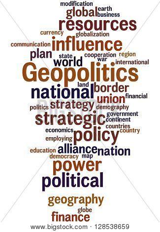 Geopolitics, Word Cloud Concept 4