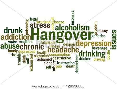 Hangover, Word Cloud Concept 9