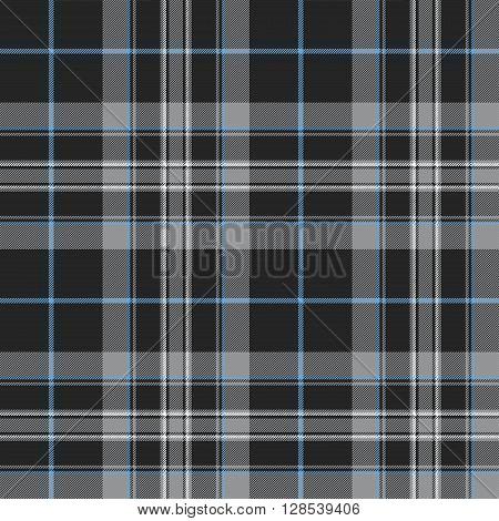 Pride of scotland platinum kilt tartan texture seamless pattern .Vector illustration. EPS 10. No transparency. No gradients.