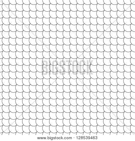 seamless pattern diagonal fish scales .Vector illustration. EPS 10.