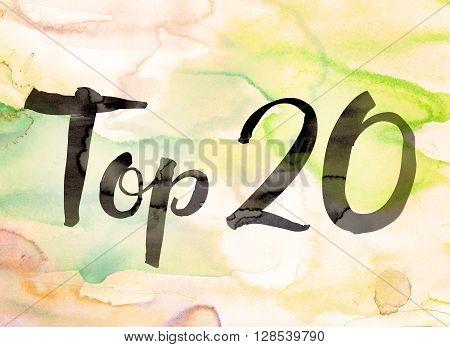 Top 20 Concept Watercolor Theme