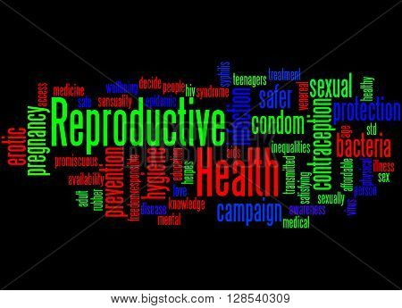 Reproductive Health, Word Cloud Concept 4