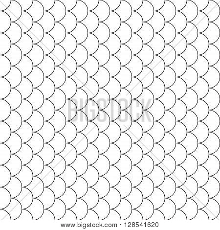fish scales seamless pattern .Vector illustration. EPS 10.