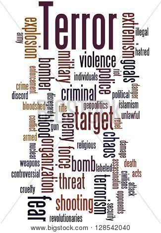 Terror, Word Cloud Concept 5