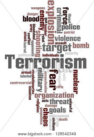 Terrorism, Word Cloud Concept 2