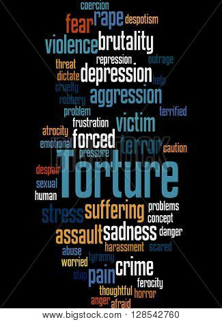 Torture, Word Cloud Concept 4