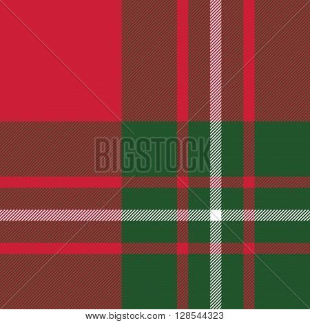 Macgregor tartan kilt fabric texture seamless pattern.Vector illustration. EPS 10. No transparency. No gradients.