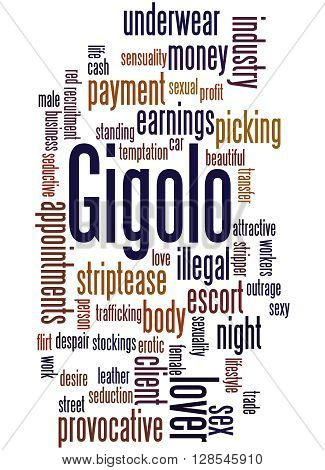 Gigolo, Word Cloud Concept 4