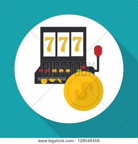 Casino  concept with icon design, vector illustration 10 eps graphic.