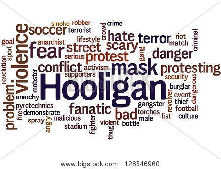 Hooligan Word Cloud, Word Cloud Concept 5