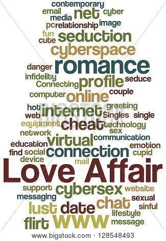 Love Affair, Word Cloud Concept 5