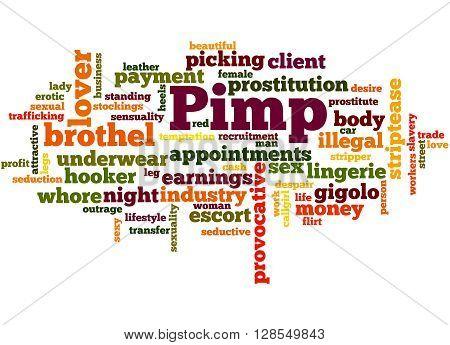 Pimp, Word Cloud Concept 7