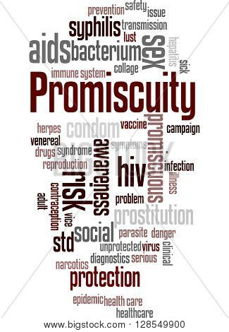 Promiscuity, Word Cloud Concept