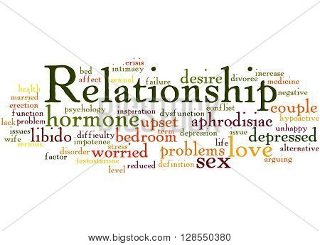 Relationship, Word Cloud Concept 9