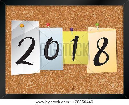 2018 Bulletin Board Theme Illustration