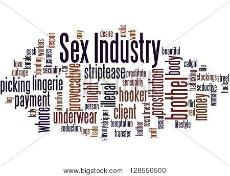 Sex Industry, Word Cloud Concept 9