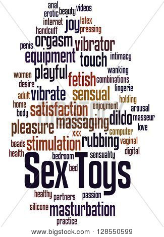 Sex Toys, Word Cloud Concept 7