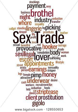 Sex Trade, Word Cloud Concept 3