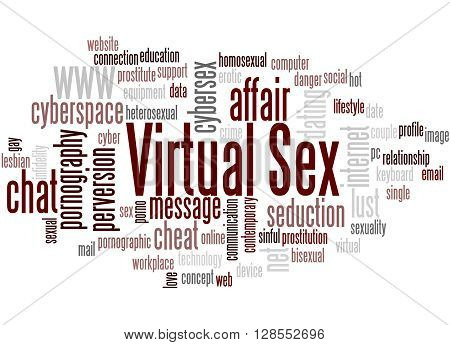 Virtual Sex, Word Cloud Concept 9