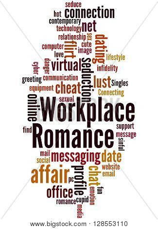 Workplace Romance, Word Cloud Concept 5