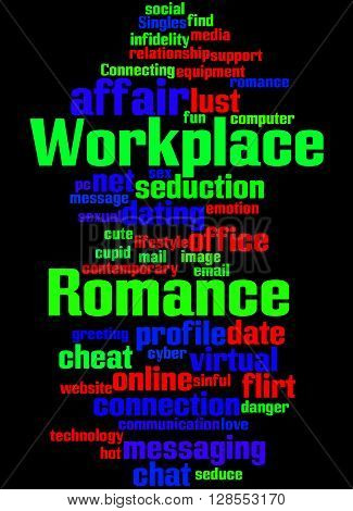 Workplace Romance, Word Cloud Concept 7