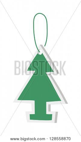 Car air freshener vector illustration.