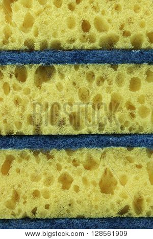 New Absorbent Yellow Sponge Vertical Background