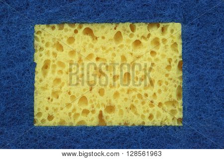 New Absorbent Sponge Absract Background With Copy Space