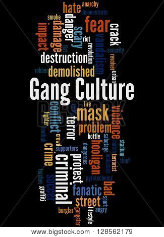 Gang Culture, Word Cloud Concept 5